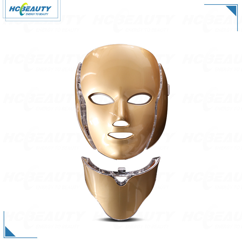 7 Colors Wrinkle Face Lifting Led Photon Beauty Mask for Sale
