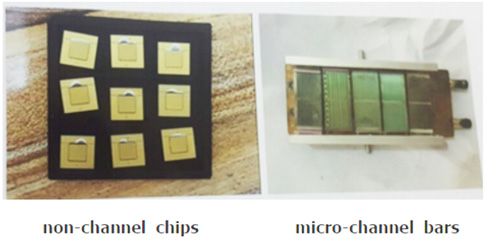 non-channel-laser-chip