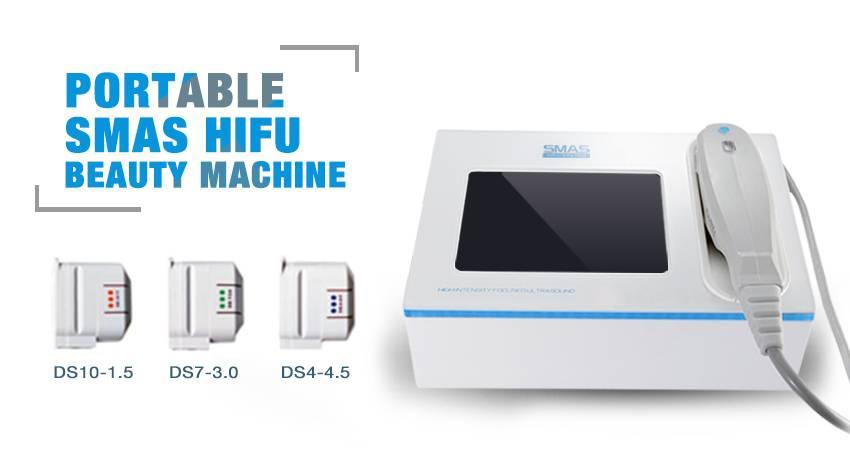 Portable Facial Skin Tightening Home Use Hifu Machine Cost FU4 5-9S