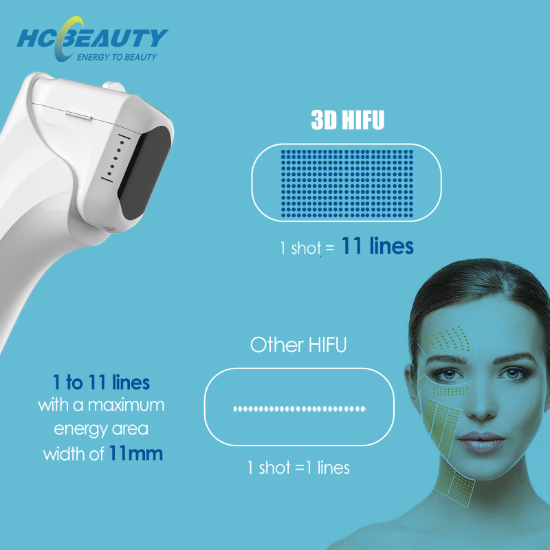 Wrinkle Removal Skin Tightening Professional Salon Hifu Machine for Sale Uk