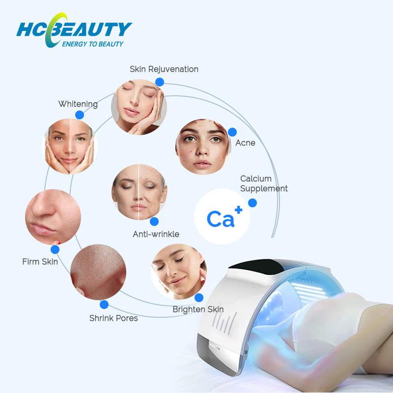 New Skin Care Led Light Therapy Photon Face Neck Machine FM9