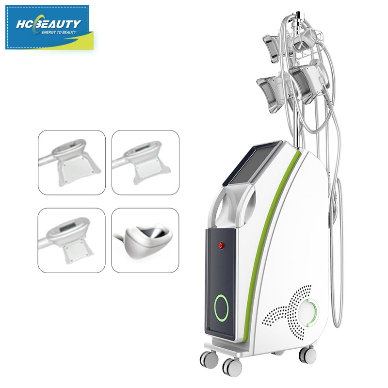 Innovative Cryolipolysis Machine 4 Handles Work Simultaneously Cryotherapy Fat Freezing Machine