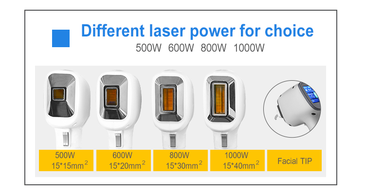 1064nm 755nm 808nm Diode Laser Permanent Body Facial Hair Removal