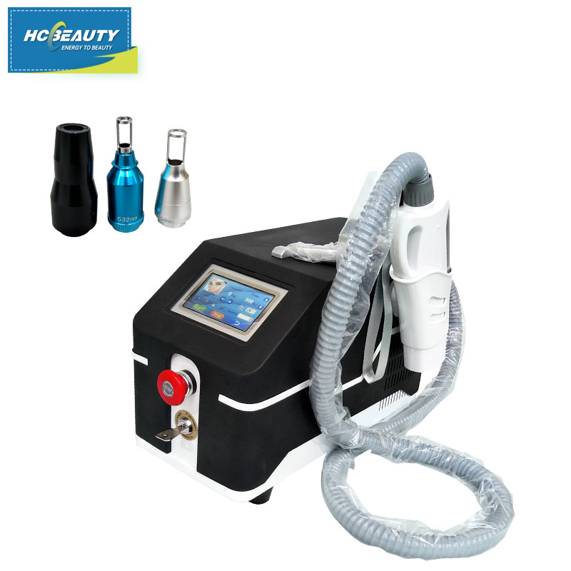 Laser Skin Resurface Tattoo Removal Machine 532nm Clinic for Sale